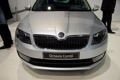 3ème génération de Skoda Octavia sur l'affichage à la 11ème édition d'Autosalon international Brno Image stock