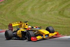 BRNO, RÉPUBLIQUE TCHÈQUE LE 5 JUIN : Équipe de Renault F1 Images stock