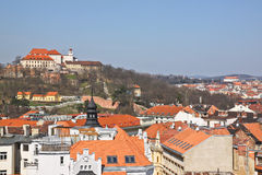 Brno. Is the second largest city in the Czech Republic by population and area, the largest Moravian city, and the historical capital city of the Margraviate of royalty free stock photos