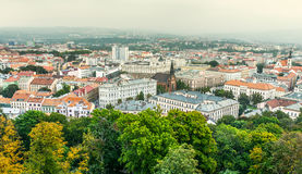 Brno is second largest city in Czech Republic Stock Photos