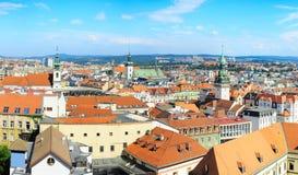 Brno skyline Royalty Free Stock Photos