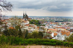 Brno stad Arkivbilder