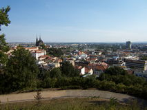 Brno stadsTjeckien royaltyfri bild
