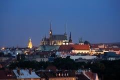 brno tjeckrepublik Royaltyfri Fotografi