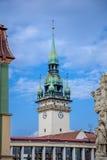 Brno town hall tower stock photos