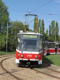 Brno tram Stock Photo