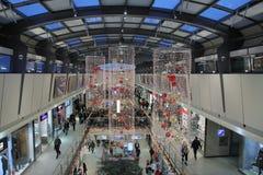 Brno, Tsjechisch 12,2014 republiek-december: Kerstmisdecoratie bij s Royalty-vrije Stock Afbeelding