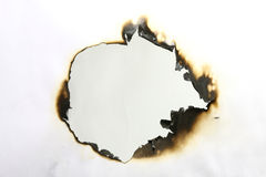 bränt papper Arkivfoton