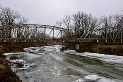 Bro över ålfloden Royaltyfri Bild