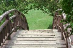 bro över Arkivfoto