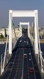 Bro över Danube River Arkivbilder
