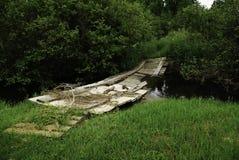Bro över flodpiken royaltyfri fotografi