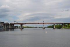 Bro över Hudsonen Arkivbilder