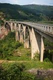 Bro över Tara Royaltyfria Foton