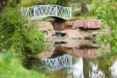 bro över vatten Royaltyfri Fotografi