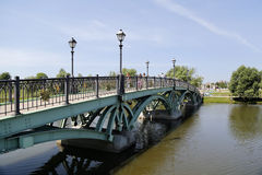 bro över vatten Royaltyfria Foton