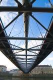 Bro över Vistula River Arkivbilder