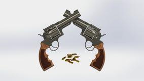 broń royalty ilustracja