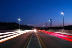 bro 98 sporrar Arkivfoton