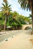Bro av den Neratzia slotten i Kos Royaltyfria Bilder