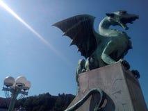 Bro av draken royaltyfri bild