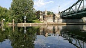 Bro av Glienicke Royaltyfri Bild