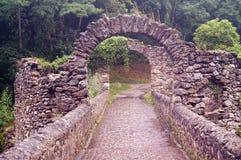 Bro av jäkel (diable Pont du) Frankrike Royaltyfri Fotografi
