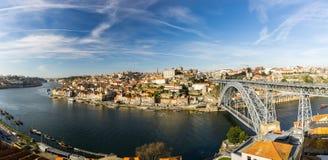Bro av Louis I, Porto Arkivfoto