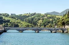 Bro av San Sebastian Fotografering för Bildbyråer