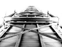 Bro av stål Arkivfoton