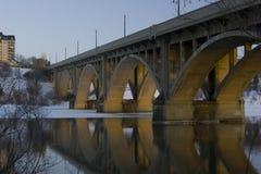 bro broadway saskatoon Fotografering för Bildbyråer