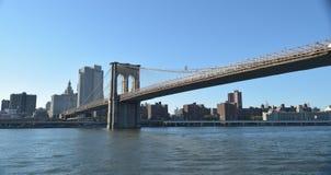 bro brooklyn manhattan New York Royaltyfria Foton