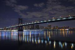 bro brooklyn manhattan New York Amerika tillstånd förenade Royaltyfri Foto