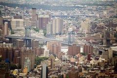 bro brooklyn New York Arkivbild