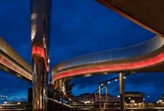 Bro Byens моста города в Оденсе, Дании Стоковые Фотографии RF