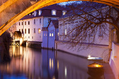 bro charles under vattenhjulet Royaltyfria Foton