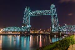 Bro De Hef i Rotterdam Nederländerna Royaltyfri Fotografi