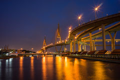 Bro Eid i Bangkok Thailand Royaltyfri Foto
