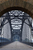 bro elbe över floden royaltyfria bilder