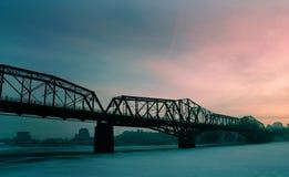 bro för 2 alexandria royaltyfri fotografi