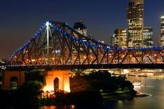Bro för berättelse för Brisbane ` s Royaltyfri Bild
