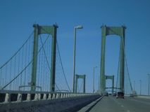 Bro för Delaware minnesmärke Arkivbild