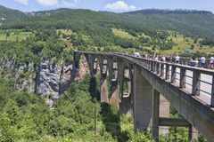 Bro för Djurdjevic ` s Royaltyfri Foto