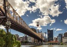 bro för 59 gata i Manhattan Arkivfoton