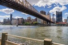 bro för 59 gata i Manhattan Royaltyfria Foton