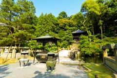 Bro för grusbanasten Chion-i templet Kyoto Royaltyfri Foto