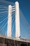 Bro för högt torn Royaltyfri Foto