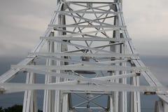 Bro för kommersiell gata arkivfoto