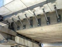 Bro för konkret väg Arkivfoto