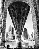 Bro för Queens boro Arkivfoton